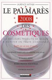 Le palmarès 2008 des cosmétiques ; les meilleurs produits de beauté à acheter en toute confiance - Intérieur - Format classique