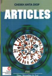 Articles - Couverture - Format classique