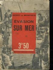 Evasion Sur Mer. - Couverture - Format classique