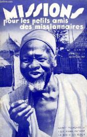MISSIONS POUR LES PETITS AMIS DES MISSIONNAIRES, 5e ANNEE, N° 11, NOV. 1937 - Couverture - Format classique