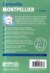 Montpellier - 4ème de couverture - Format classique
