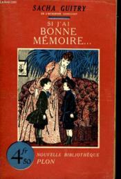 Si J'Ai Bonne Memoire... - Couverture - Format classique