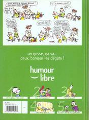 Les Gosses T.3 . T'As Dit Quoi ? - 4ème de couverture - Format classique