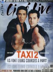 CINE LIVE - N° 33 - TAXI 2 , ils font leurs courses à Paris - Couverture - Format classique
