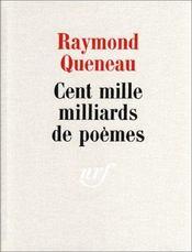 Cent mille milliards de poèmes - Intérieur - Format classique