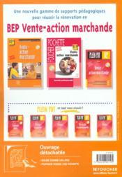 Vente-action marchande. BEP VAM, seconde professionnelle. nouveau référentiel - 4ème de couverture - Format classique