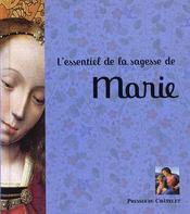 L'essentiel de la sagesse de Marie - Intérieur - Format classique