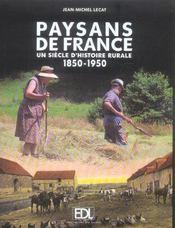 Paysans De France 1850/1950 - Intérieur - Format classique