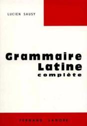 La grammaire latine - Couverture - Format classique