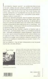 Pensees Echevelees - 4ème de couverture - Format classique