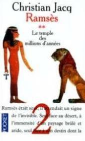 Ramsès t.2 ; le temple des millions d'années - Couverture - Format classique