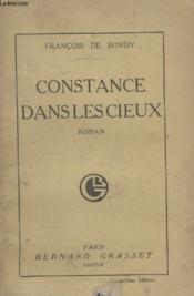 Constance Dans Les Cieux. - Couverture - Format classique