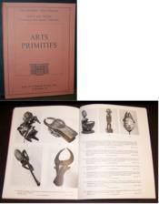 Arts Primitifs, Catalogue de vente - Couverture - Format classique