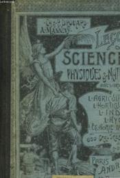Lecons De Sciences Physiques Et Naturelles - Cours Moyen Et Suprerieur - Couverture - Format classique