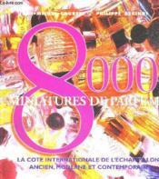 8000 miniatures de parfum - Couverture - Format classique