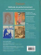 Dessin ; méthode de perfectionnement - 4ème de couverture - Format classique