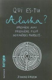 telecharger Qui es-tu Alaska ? livre PDF en ligne gratuit
