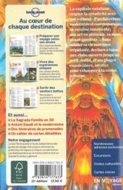 Barcelone city guide (11e édition) - 4ème de couverture - Format classique