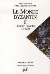 Le monde byzantin t.2 ; l'empire byzantin (641-1204) - Intérieur - Format classique
