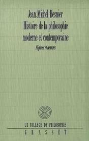 Histoire de la philosophie moderne et contemporaine - Couverture - Format classique