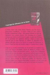 Dissertations sur penser l'histoire - 4ème de couverture - Format classique