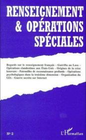Renseignements & opérations speciales t.2 - Couverture - Format classique