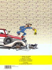 Garage Isidore t.3 ; silence on tourne - 4ème de couverture - Format classique