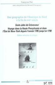 Voyage dans la haute Pensylvanie et dans l'Etat de New-York depuis l'année 1785 jusqu'en 1798 - Intérieur - Format classique