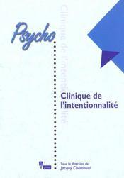 Clinique De L'Intentionnalite - Intérieur - Format classique