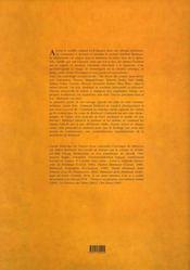 Le regard bleu d'Arthur Rimbaud - 4ème de couverture - Format classique