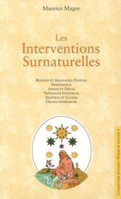Les interventions surnaturelle - Couverture - Format classique