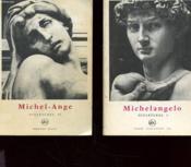Lot De Deux Ouvrages - Tome 1- Michelangelo Sculptures 1 - Tome 2 - Michel- Ange Sculptures 2 - Couverture - Format classique