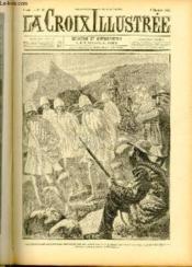 LA CROIX ILLUSTREE N° 50 Les prisonniers anglais sont renvoyés par les Boers qui leur laissent la vie sauve, leur pipe et leur chemise (dessin de Jordic, gravure de Bauchart). - Couverture - Format classique