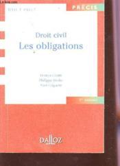 Droit civil ; les obligations (9e édition) - Couverture - Format classique