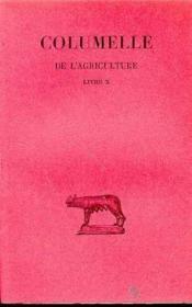 De l'agriculture livre 10 - Couverture - Format classique