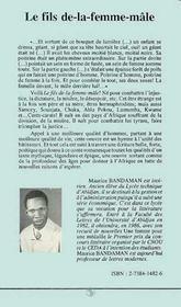 Le Fils De-La-Femme-Male - 4ème de couverture - Format classique