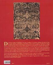 Etoffe au fil des civilisations l - 4ème de couverture - Format classique