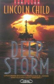 Deep storm - Intérieur - Format classique