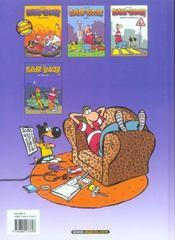 Parker & Badger t.4 ; restons zen - 4ème de couverture - Format classique