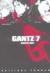 Gantz T.7 - Intérieur - Format classique