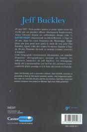 Jeff Buckley - 4ème de couverture - Format classique