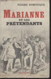 Marianne Et Les Pretendants. - Couverture - Format classique