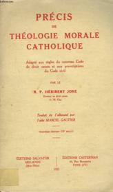 Precis De Theologie Morale Catholique. - Couverture - Format classique
