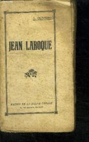 Jean Laroque - Couverture - Format classique