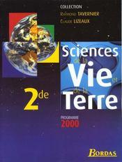 Svt 2de tavernier 2000 - Intérieur - Format classique