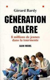 Generation galere - Couverture - Format classique