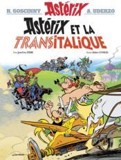 Astérix T.37 ; Astérix et la Transitalique - Couverture - Format classique