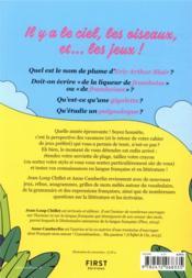 Cahier de jeux : langue française - 4ème de couverture - Format classique