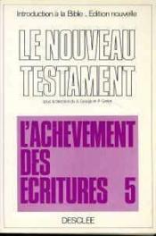 Nouveau Testament T V - Couverture - Format classique