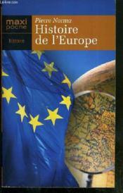 Histoire De L'Europe - Couverture - Format classique